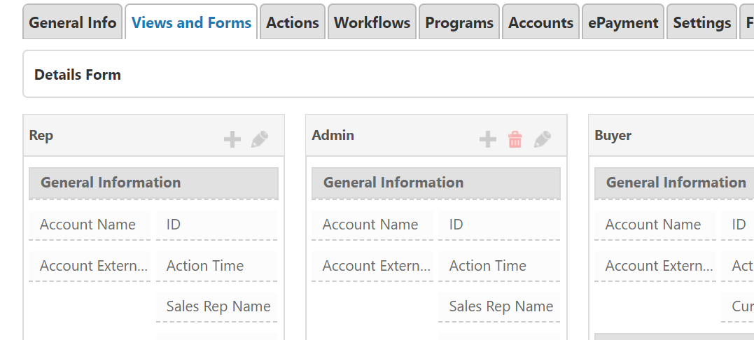 Sales Transaction Types - Views and Forms configuration – Pepperi