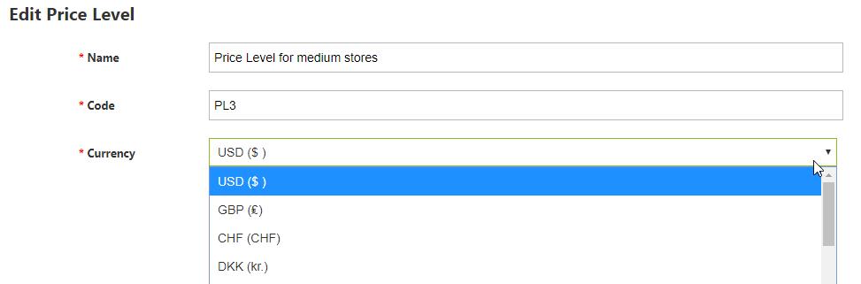 edit price level in quickbooks